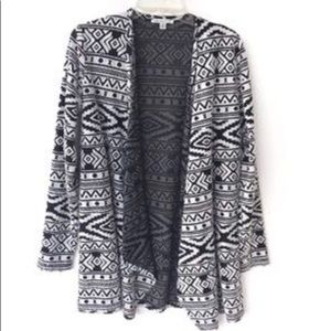 american eagle boho open cardigan size small